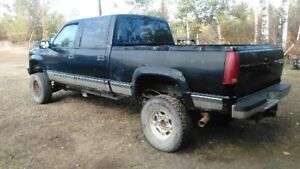 2000 crew cab Chevy project for trade