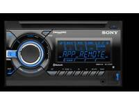 Sony WX-GT90BT Bluetooth Double Din Stereo