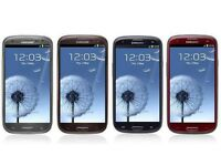Samsung Galaxy S3 BRAND NEW IN BOX Available in White and Dark red