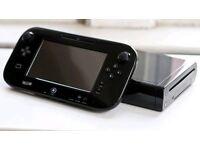 Black Nintendo Wii U Premium 32gb Console