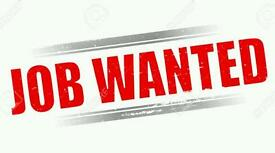 Work Wanted Receptionist Admin