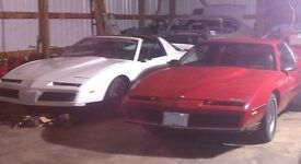 Various Firebird Camaro Trans Am parts 82-92