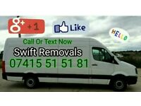 Swift Removals Man And Van, Prices FROM £9.99 CHEAP! - Lancashire -Preston Blackpool Blackburn