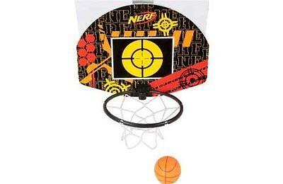 Brand New NERF Sports NERFOOP Set ~ Basketball SLAM DUNK & Blaster Target
