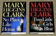 Mary Higgins Clark Book Lot