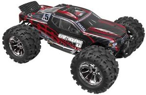 Redcat Racing Earthquake Nitro Gas 3.5 4wd 1/8 RC 2.4Ghz Truck STARTER KIT R/Blk