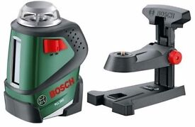 Bosch PLL360 laser, only used a couple of times as new.with bosch tripod