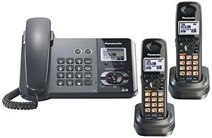 Panasonic  2-Line Corded/Cordless Phone with Answering System