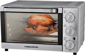 Morphy Richards KWS1525X-F2UB rotisserie mini oven