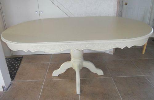 Shabby Chic Oval Dining Table Ebay