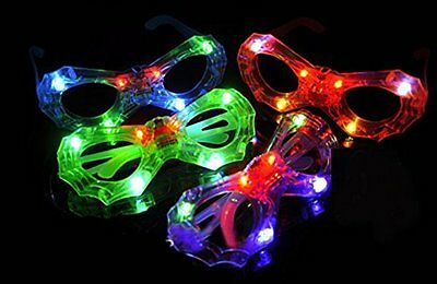LED Light Up Sunglasses - Flashing Multi Colored Led Glasses BEST PARTY FAVORS