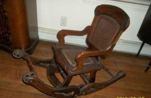 - Antique High Chair EBay