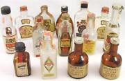 Empty Miniature Bottles