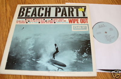 Beach Party Wipe Out G.S.P. Private Press Gary Paxton surf