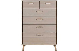 ARVIKA CHEST 4+2 - LIGHT OAK