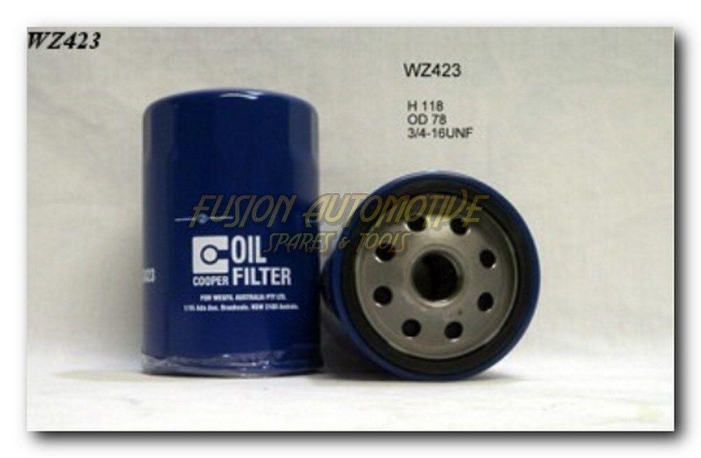 Ryco Equiv Z516 WZ516 Wesfil Cooper Multi Application Oil Filter