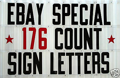 8 Changeable Sign Letters For Outdoor Marquee Portable Signs