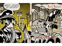 ROY LICHTENSTEIN - 'Great rings of saturn!!' - hand signed original print - c1964 (Andy Warhol int.)