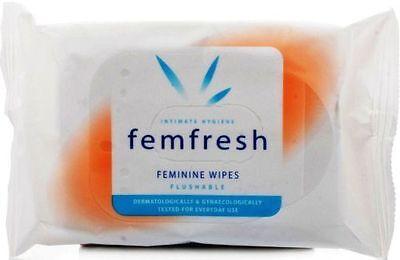 2 X15=(30) FEMFRESH INTIMATE HYGIENE  FEMININE FRESH WIPES