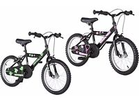 """16"""" UNIVERSAL BIKE...GIRLS OR BOYS. BRAND NEW AND BOXED."""