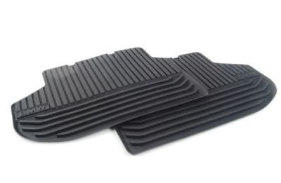 BMW Genuine All Weather Rubber Floor Mats Set Rear F10F11 51472346785