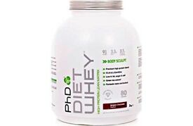 PhD Diet Whey Protein Supplement - 2 kg - CHEAP