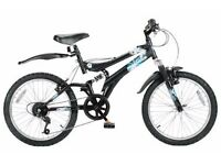 Muddy Fox 'Tornado' cycle - full suspension boys bike