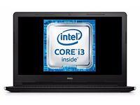 """Dell Inspiron 15 3000 15.6"""" Laptop (Intel Core i3, 4GB RAM, 1TB HDD, Windows 10), Matt Black"""