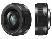 PANASONIC LUMIX G II Lens, 20mm, F1.7 ASPH., Mirrorless Micro Four Third