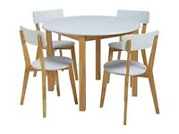 Rye table and 4 chairs - not quite perfect