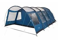 Trespass Go Further 6 Man 2 Room Tunnel Tent