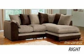 ** MASSIVE SAVINGS** BRAND NEW BYRON SOFA IN CORNER OR 3+2 ON SPECIAL OFFER