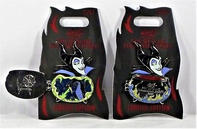 Disney Mickey Not So Scary Halloween Party 2017 Maleficent 3-D Pin LE 5400 NEW ()