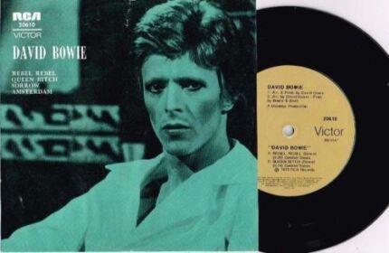 Wanted: Wanted - David Bowie Rebel, Rebel Australian Ep