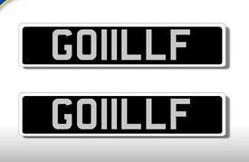 GOLF -------------------------------------------------------- Registration Number for sale GOIILLF