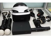 PS VR BUNLDE PS4 VR with Move Controllers and Camera