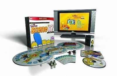 THE SIMPSONS 20TH ANNIVERSARY DELUXE EDITION FAMILY DVD TRIVIA BOARD GAME -