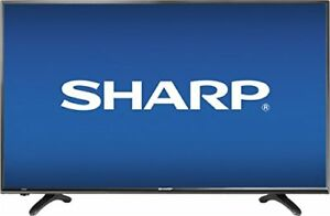 "MINT in box*Sharp HDTV 1080P 40"" flat Television screen WOW"