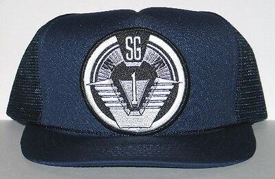 Stargate SG-1 Group 1 Logo Embroidered Shoulder Patch Baseball Hat / Cap, NEW