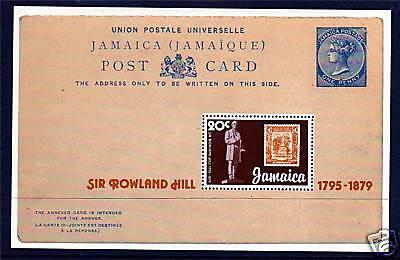 Jamaica 1979 Rowland Hill MS SG 488 MNH