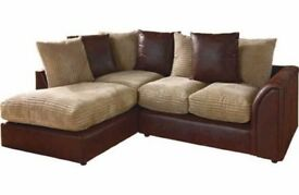 Cheapest Price- Brand New BYRON Jumbo Cord Corner or 3 and 2 Seater Sofa Suite --High Quality--