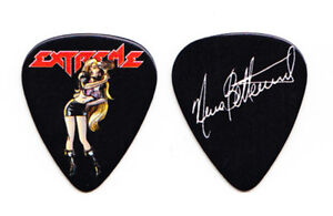 Extreme Nuno Bettencourt Signature Woman Black Guitar Pick - 2012 Tour