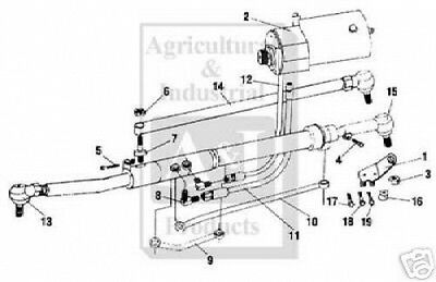 New Mf Power Steering Kit 135 240 240s