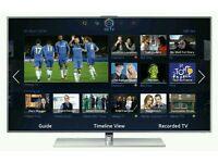 "Samsung 46"" LED smart 3D wi-fi tv builtin HD freeview fullhd 1080p"