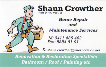 Home Repair & Maintenance Services Angle Vale Playford Area Preview