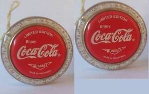 Cola Flecken coca cola coke rare pair of gold fleck gold speck coke yoyo