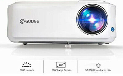 GuDee Native 1080P Projector, Full HD Video Projector