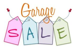 Garage Sale Saturday July 14th