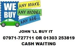 CARS VANS WANTED FOLKESTONE AND SURROUNDING AREAS