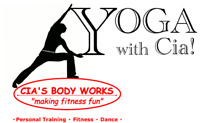 YOGA with Cia!  Fun, Affordable Yoga for the Summer!